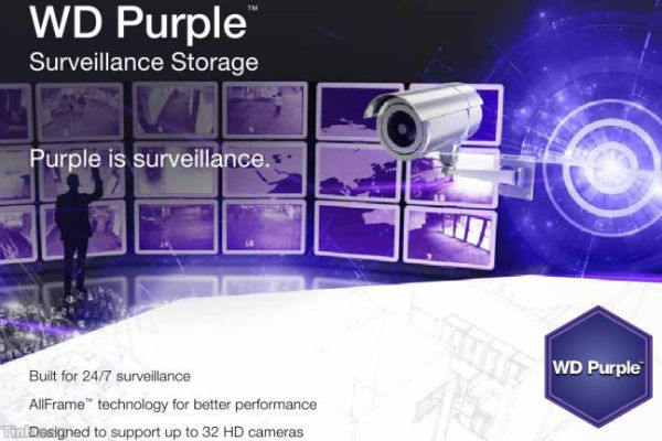 Ổ cứng camera Western Purple 2TB
